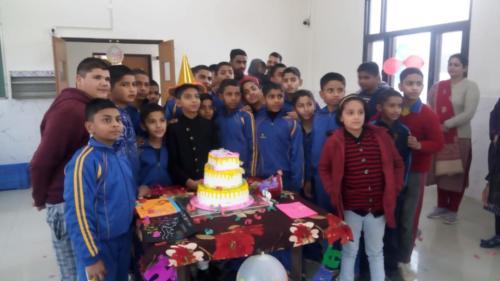 Birthday Celebrations at School-February 2020